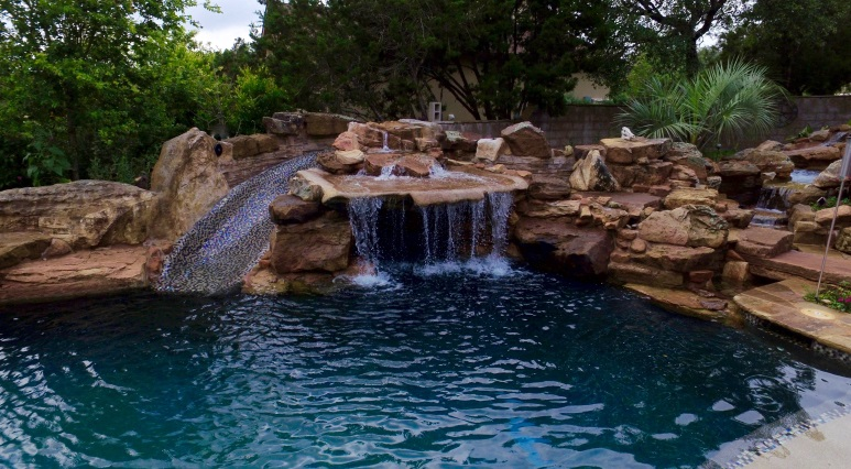 Cool Pools With Caves Backyard Pool A Hot Tub And Bar Under