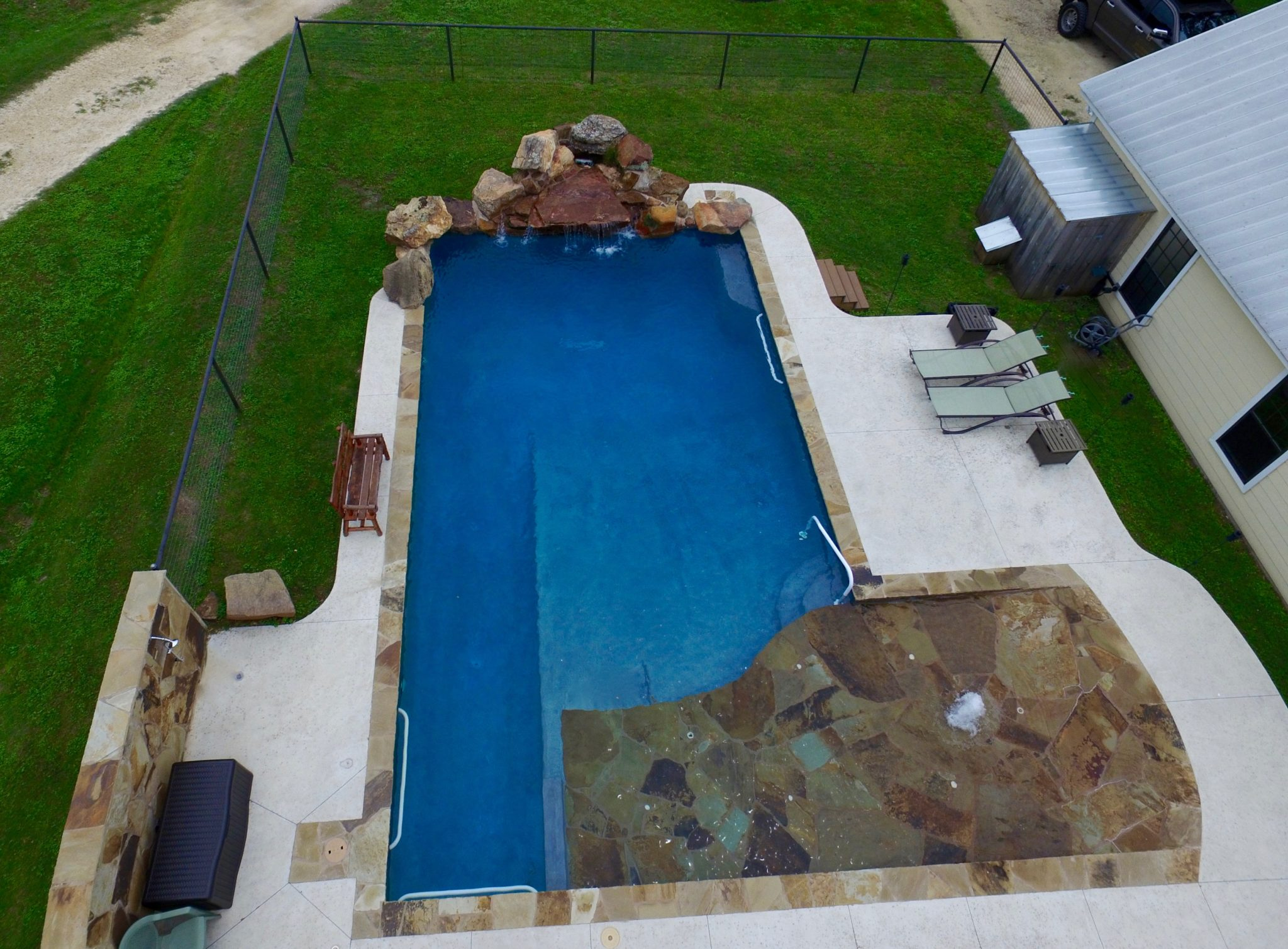 Modern Pool Design Boerne | New Braunfels | Spring Branch